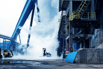 Steelmaking plant