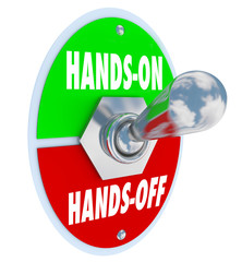 Hands On Vs Off Toggle Switch Get Involved Take Action