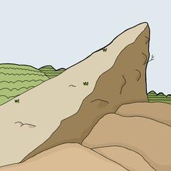 Cliff Background