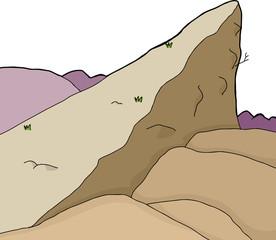 Rock Cliff Background