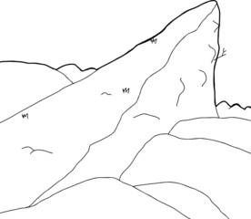 High Mountain Outcrop