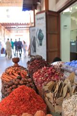 Spices in the spice souk in Dubai....