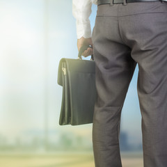 Cropped view of businessman