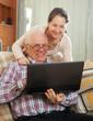 couple using  Internet