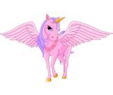 Fototapety Unicorn Pegasus