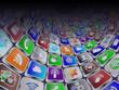 social media icons tunnel
