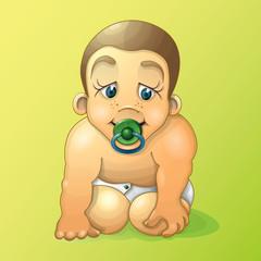 Младенец - маленький ребенок