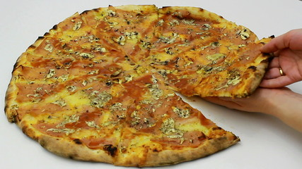 Succulent Italian pizza
