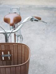 Bicycle hand and saddle