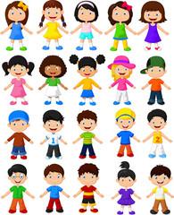 Happy children collection set