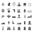 Funeral icons - 73819027