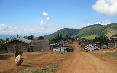 Khumu Village in Northern Laos