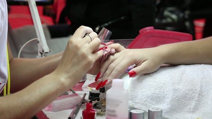nail treatment  beauty salon