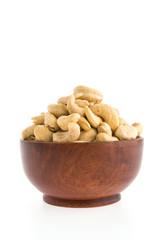cashew bowl isolated