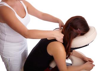 Indische Kopf Massage