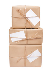 Gift box with card