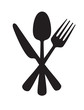 Knife, fork and spoon - 73822802