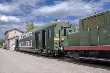 Train ancien en Alsace, Haut Rhin