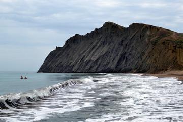 Мыс, море, скала