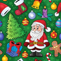 Christmas seamless background 8