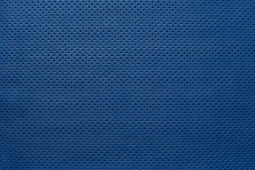 texture leather of blue color with outer side
