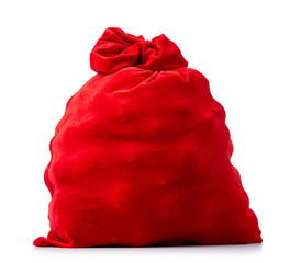 Santa Claus red bag full. File contains a path to isolation.