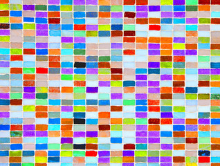 Multicolored surface as background