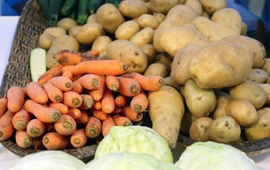 seasonal vegetables just farmer's Garden collection
