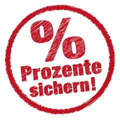Prozente sichern