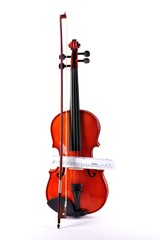 Violin with notes