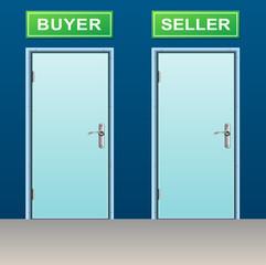 buyer and seller doors