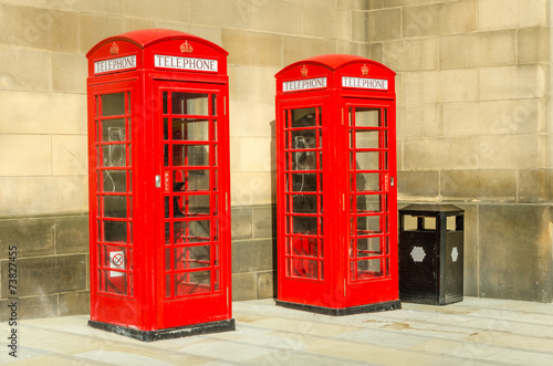 Traditional Phone Booths in Manchester