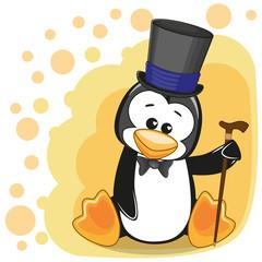 Penguin in hat