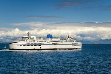 Passenger Ferry in Navigation