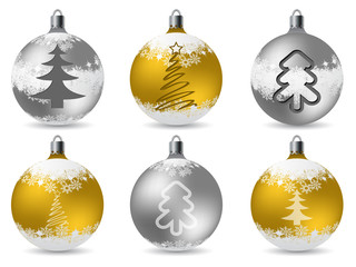 Cool glittering christmas decorations