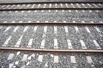 Vías de ferrocarril