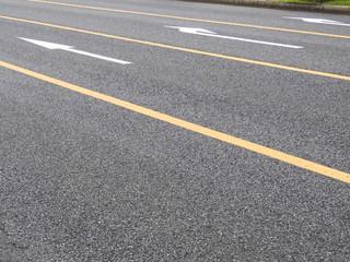 車道のライン