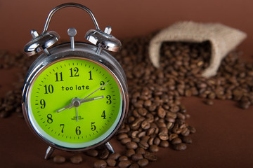 It is time to drink coffee