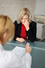 Dismissal or failed job interview
