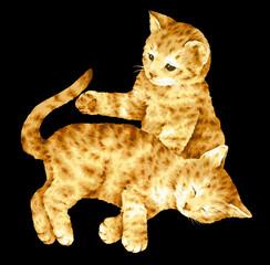 猫のイラスト,