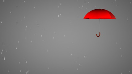 Your text under an umbrella