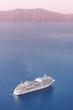 Leinwandbild Motiv Luxury cruise ship.