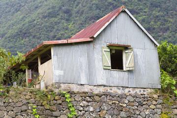 case créole, île de la Réunion