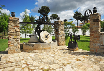 Viejo molino de aceite de oliva, Extremadura, España