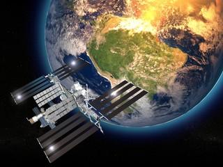 Iss, Stazione Spaziale Internazionale, orbita terra, spazio