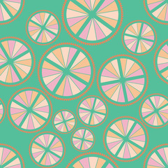 abstract seamless ornament pattern. Modern stylish texture.