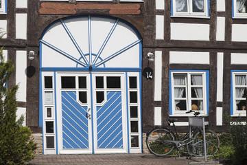 Bad Münder Fachwerkhaus Detail