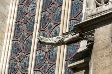 Paris - The gargoyles of the Saint Chapelle