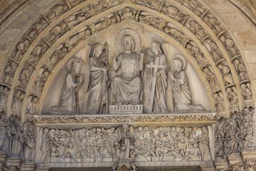 Paris - Last Judgment Tympanum of the Sainte Chapelle