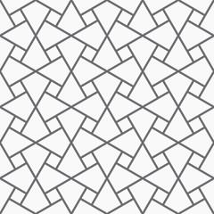 Vector seamless arabic pattern.